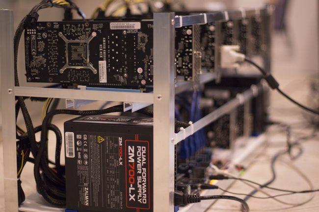 Miner bitcoin avec un rig