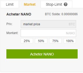 Achat de Nano XRB