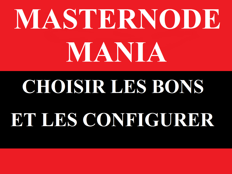 Formation Masternode Mania