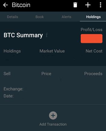 Blockfolio - Profit