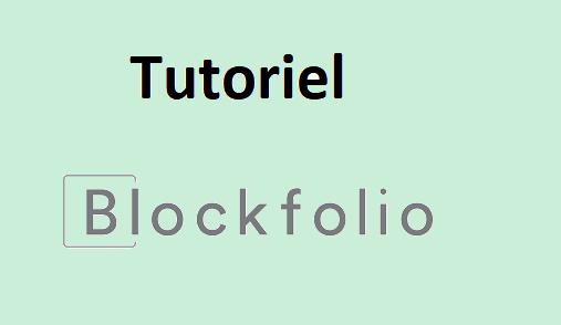 Tuto Blockfolio : Comment utiliser Blockfolio ?
