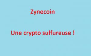 Zynecoin (ZYN) une cryptomonnaie sulfureuse