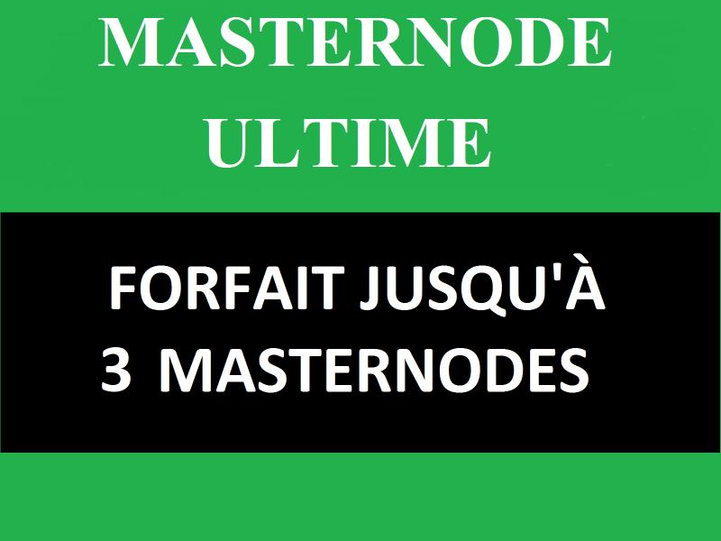 Forfait Masternodes : Installation et configuration